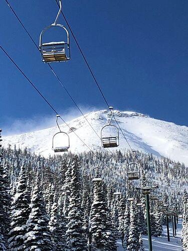 Teton Pass Ski Area Ski Resort by: tourist offical