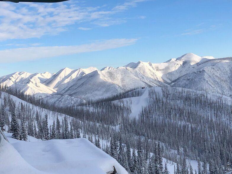 Teton Pass Ski Area snow