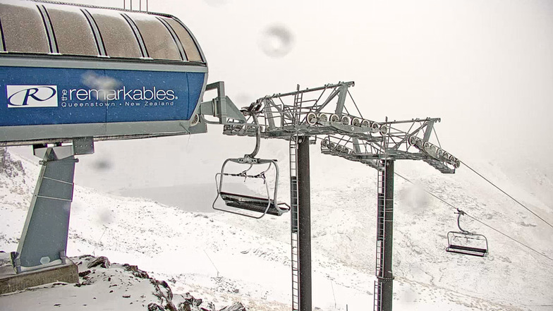 early snow during the last 24hrs, Remarkables