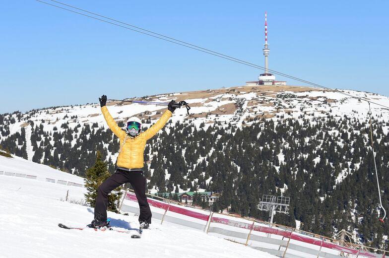 Praděd - Ovčárna snow