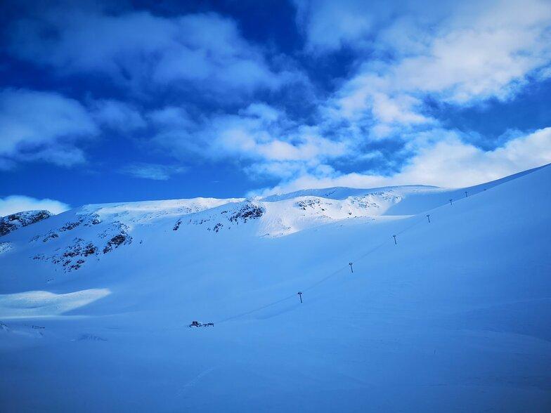 Strynefjellet snow