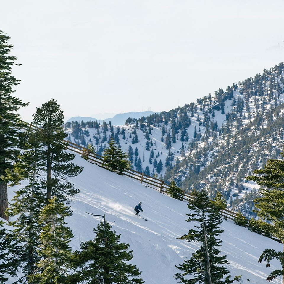 re-opened but now last weekend of the season, Mt Baldy (California)
