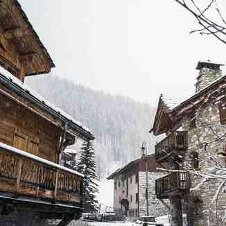 lockdown, Val d'Isere