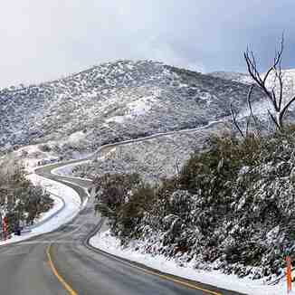10cm of pre-season snow, Mount Hotham