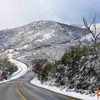 10cm of pre-season snow, Mount Hotham