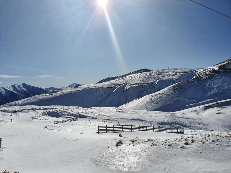 20cm of fresh snow, Mount Lyford
