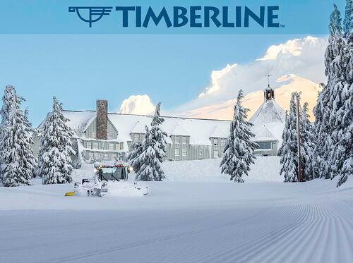 Timberline Ski Resort by: Snow Forecast Admin