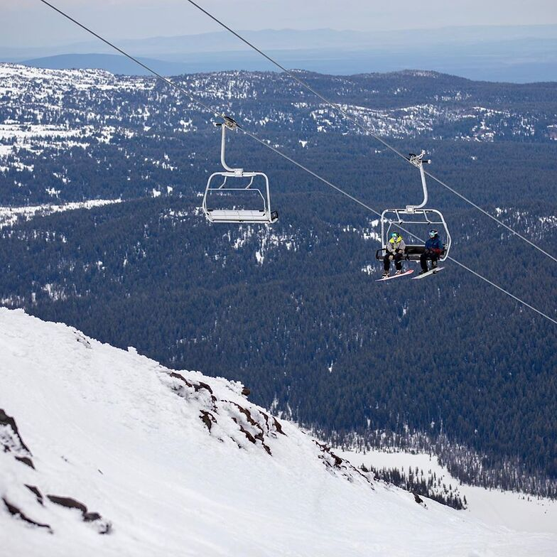 re-opened yesterday for 9 days, Mt Bachelor
