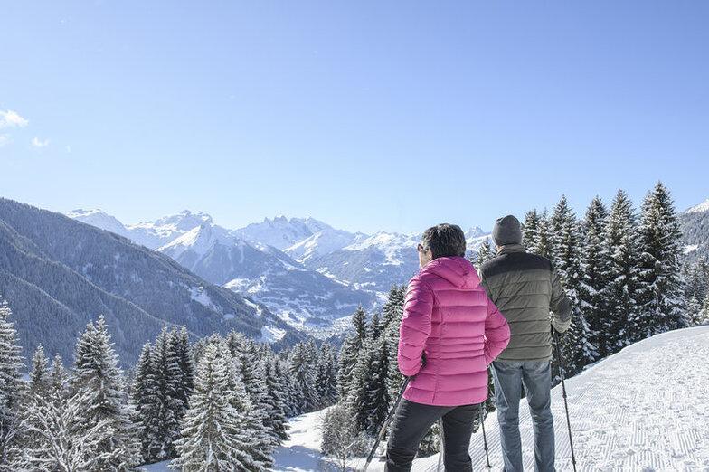 Kristberg-Silbertal snow