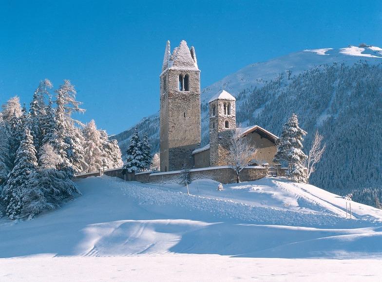 Celerina/Engadin snow