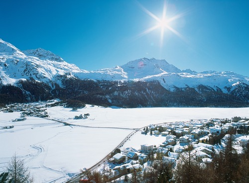 Silvaplana/Engadin Ski Resort by: tourist offical