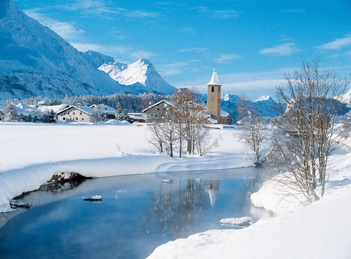 Sils/Engadin Ski Resort by: tourist offical