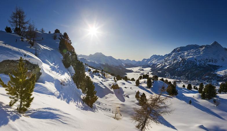 Silvaplana/Engadin snow