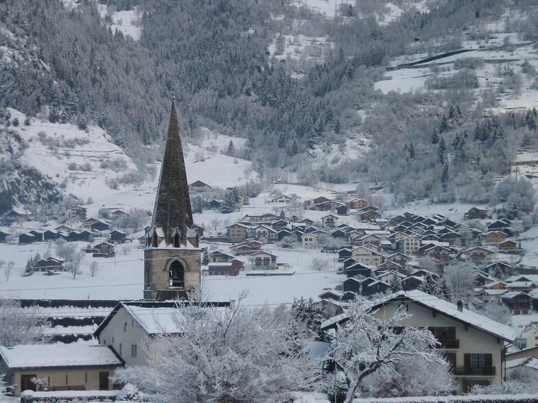 Le Chable snow
