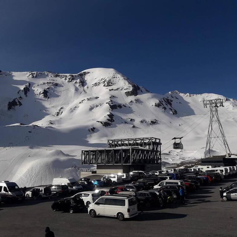 Summer skiing and boarding this weekend, Kaunertal