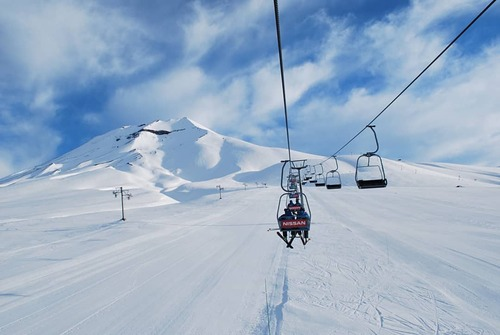 Corralco (Lonquimay) Ski Resort by: tourist offical