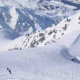 La Plagne gletscher