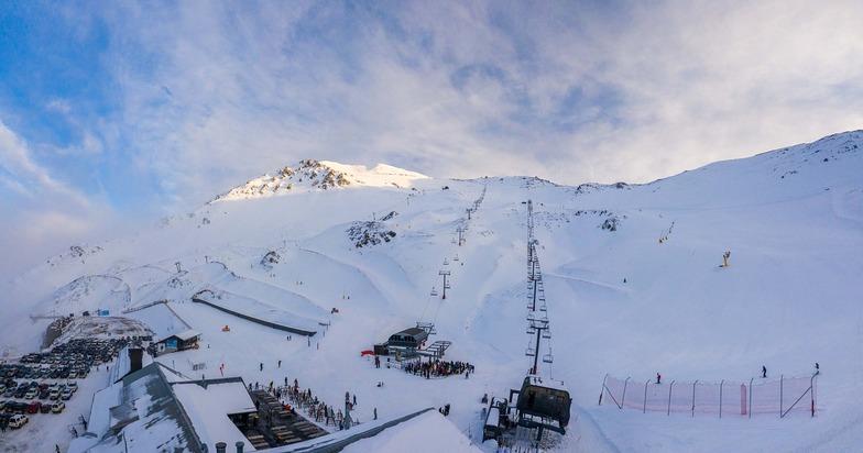 Opening day, Mt Hutt