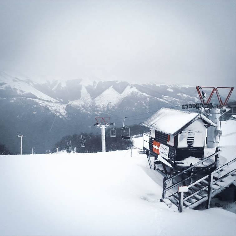 Fresh snow, Cerro Bayo