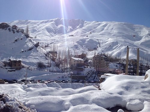 Shemshak Ski Resort by: Kamran Kashani
