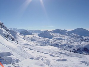 La Plagne overview photo