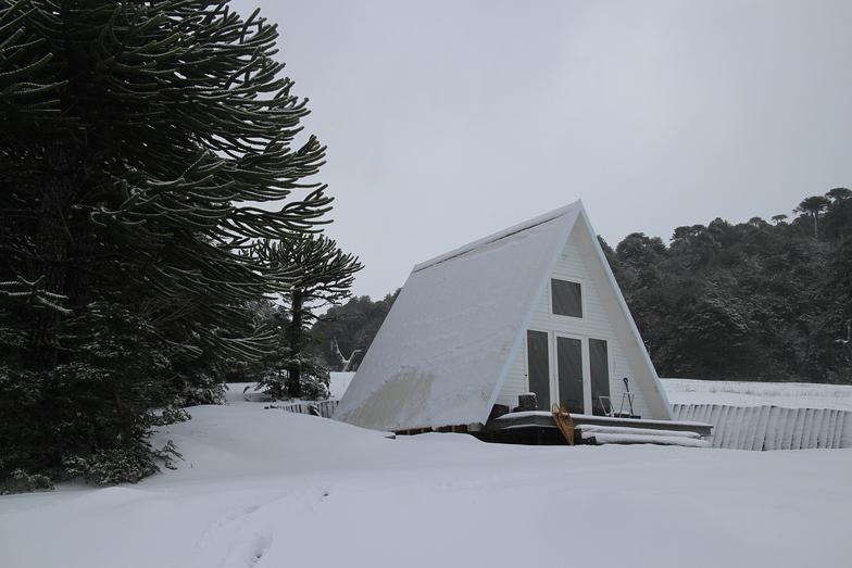 Refugio A casaesquina, Corralco (Lonquimay)