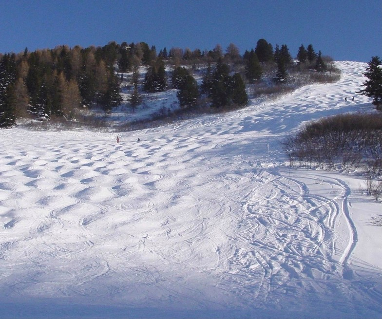 La Plagne snow