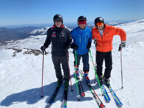 Nevados de Chillan Ski Resort by: naim dagach