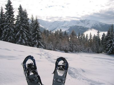 My Snowshoes with fiew to the Hirzer - Weerberg - Tirol, St Johann in Tirol
