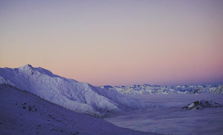 Winter solstice, Treble Cone