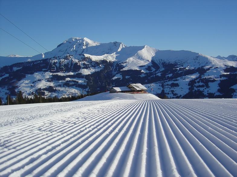 Lenk snow