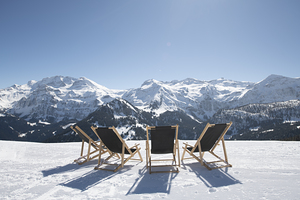 Relax in Winter-Wonderland, Lenk photo