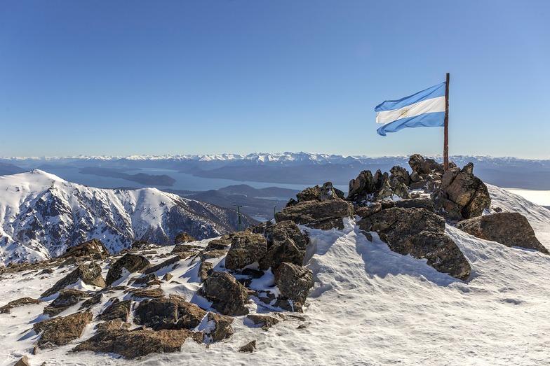 season underway for locals only, Cerro Catedral