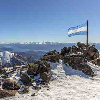 season underway for locals only, Cerro Catedral