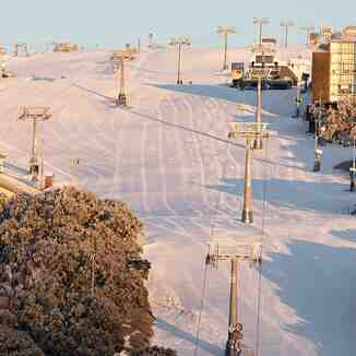 quiet slope, Mount Buller