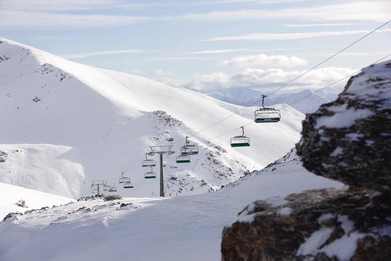 new chairlift, Remarkables