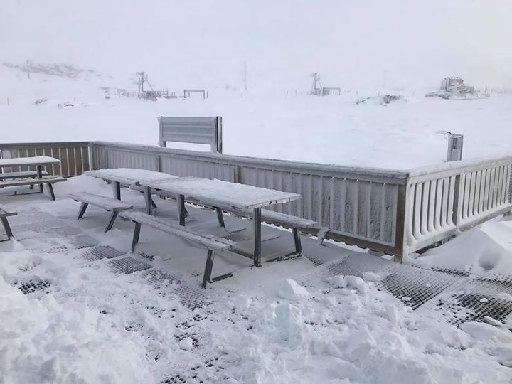 a good fall of snow, Ben Lomond