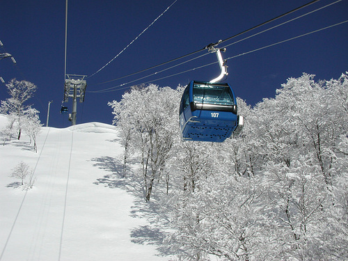 Naeba Ski Resort by: tourist offical