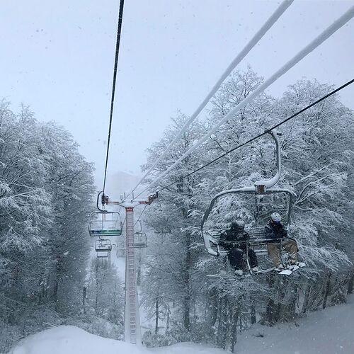 Nevados de Chillan Ski Resort by: tourist offical