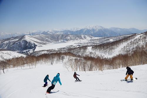 Kagura Ski Resort by: tourist offical