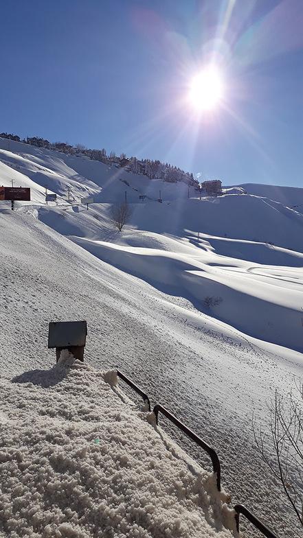 Jan Snow, Mzaar Ski Resort