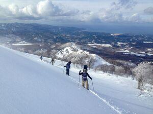 Backcountry access from Aomori Spring Resort, Aomori Spring (Ajigasawa) photo