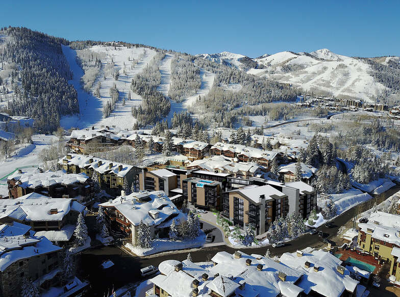 Deer Valley snow