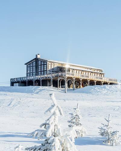 Idre Fjäll Ski Resort by: tourist offical