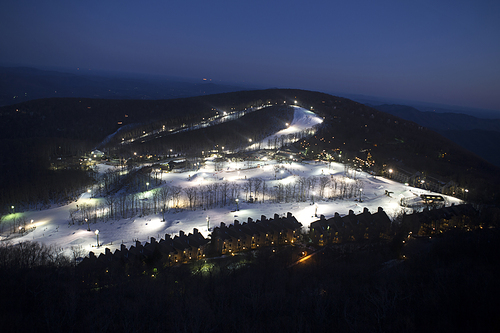 Wintergreen Resort Ski Resort by: tourist offical