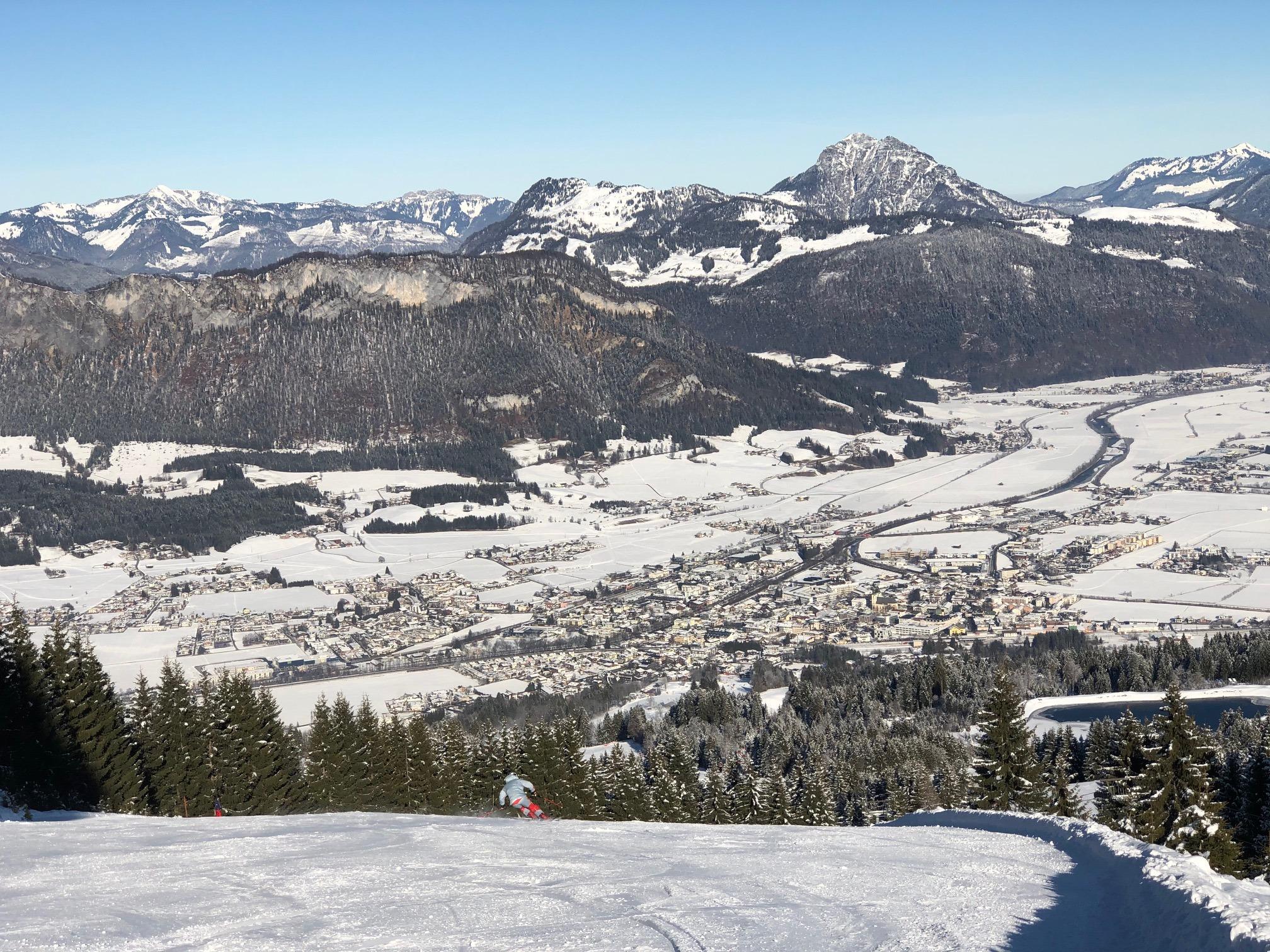 St Johann in Tirol Οδηγός Χιονοδρομικού Κέντρου