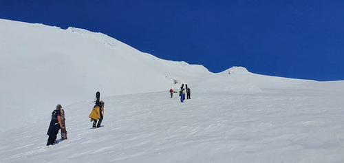 Whakapapa Ski Resort by: Bruce McCallum