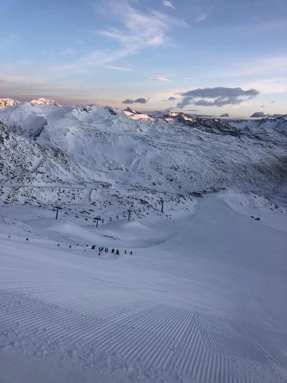 Val Senales (Schnalstal) snow