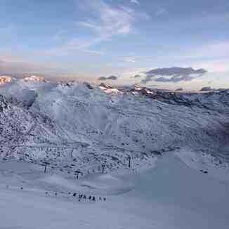 snow, Val Senales (Schnalstal)