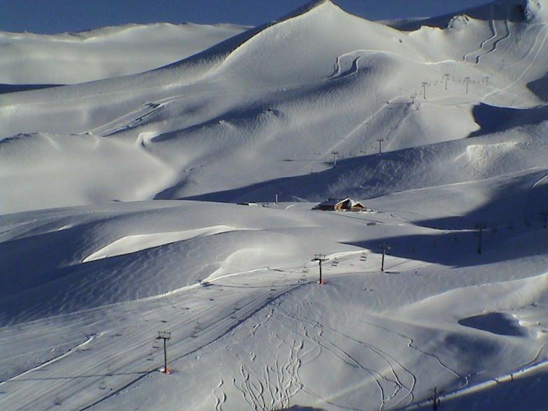 Amazing Landscape - Valle Nevado Chile - Sept. 2002